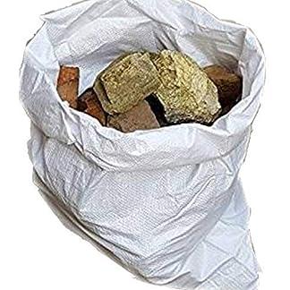 Sacos de polipropileno tejido de Equip247uk, para escombros, 55,8 x 76,2 cm, resistentes, 10 unidades