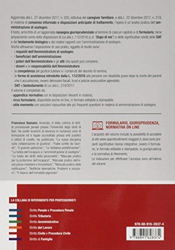 scaricare ebook gratis Manuale pratico dell'amministrazione di sostegno PDF Epub