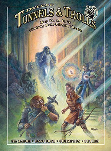 Tunnels and Trolls Rulebook por Ken St. Andre
