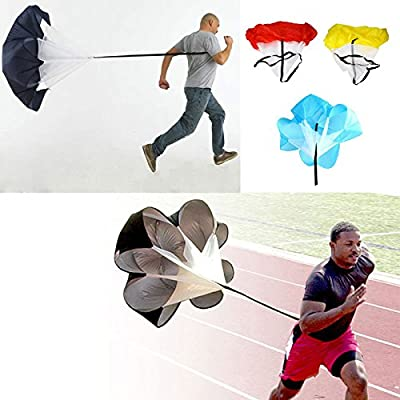 rivalty (TM) 4Color 56cm velocidad ejercicios entrenamiento resistencia paracaídas correr Ejercicio paracaídas paraguas