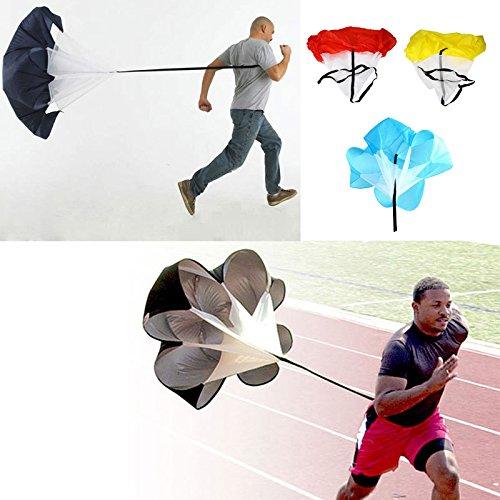 rivalités (TM) 4couleur 142,2cm Perceuses Vitesse Résistance entraînement Running Parachute parachute parapluie d'exercice