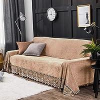 LuuBoes - Funda de sofá de Felpa Antideslizante, Resistente a Las Manchas, para salón