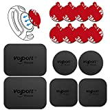 volport Universal Replacement Plaques Métalliques Accessories Kits for Car Phone Mounts,6 Pack Magnetic Plate with 8 Pack 3M Adhesive Phone Magnet Plates for All Magnetic Car Phone Holder Cradle Magnet Car Mount(8 Pack 3m Adhesive Sticker and 6 Pack Plaques Métalliques)