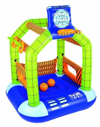 Bestway - 52065b - trampolino gonfiabile astro boy, dimensioni: 140 x 30 x 75 cm