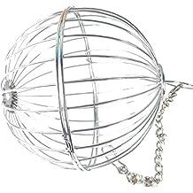 UEETEK Esfera Trate Dispensador de heno Juguete colgante del alimentador de la bola para el conejo Chinchilla Conejillo de Indias Pequeños animales