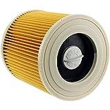 SPARES2GO Filtro de cartucho para Karcher wd2200wd2210wd2240Wet & Dry Aspiradora