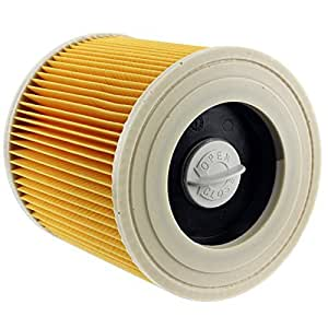 Spares2go Cartridge Filter For Karcher A2654 A2656 Wet & Dry Vacuum Cleaners by Spares2go