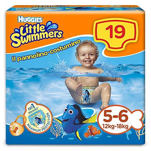 Huggies Little Swiers Pannolini Taglia 5 6 1 Pacco da 19 Pezzi