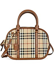 Sac bowling small orchard horsefferry check ankc010 Burberry Donna brun