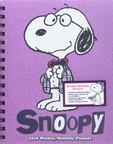 Snoopy 2018 Weekly / Monthly Planner