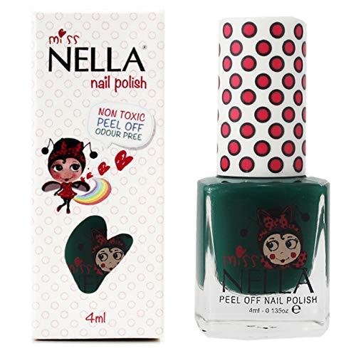 Miss Nella FIELD TRIPS- Esmalte verde especial uñas