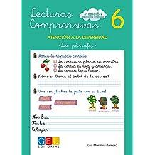 Lecturas comprensivas 6 - Leo Párrafos