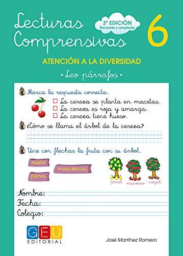 Lecturas comprensivas 6 - Leo Párrafos por José Martínez Romero