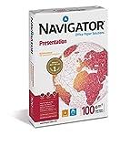Navigator NAV1024 Hochwertiges Papier für Präsentationsunterlagen (100 g/qm, Format A3) 500 Blatt weiß