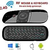 LinStar Air Mouse, Topsellerstore 2,4 GHz Wireless Fernbedienung Bewegung Smart TV Android TV Box Mini-Tastatur für Android TV Boxen, Pcs, Laptops, Projektoren und Smart-Tvs (Nicht FÜR Samsung TV)