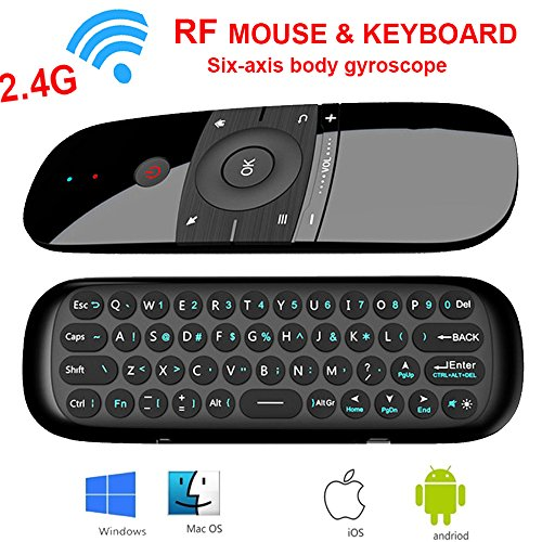 Price comparison product image Air Mouse, Topseller 2.4Ghz Wireless Remote Controller Motion Smart TV Android TV Box Mini Keyboard For Android TV Boxes,  PCs,  Laptops