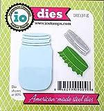 Impression Obsession io Steel Die DIE137-E Mason Jar Die US American Made
