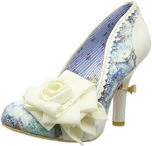 Irregular Choice Washington - Zapatos de Tacón con Punta Cerrada Mujer