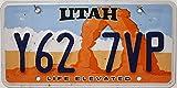US Nummernschild UTAH Kennzeichen # USA License Plate # Auto - Schild