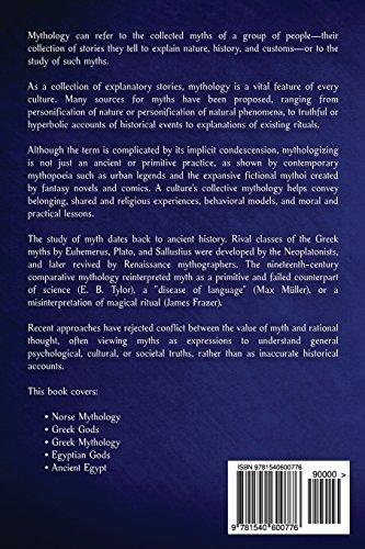 Mythology: Norse Mythology, Greek Gods, Greek Mythology, Egyptian Gods, Ancient Egypt: Volume 1