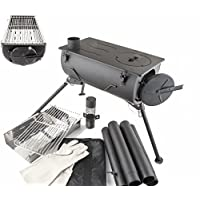 Other Comfort Wood Burning Stove Grill Heater Camping 12