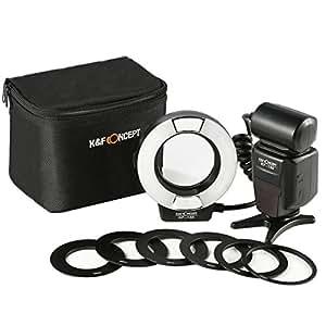 Flash annulaire Canon Flash Macro Anneau pour Appareil photo Canon SLR/DSLR