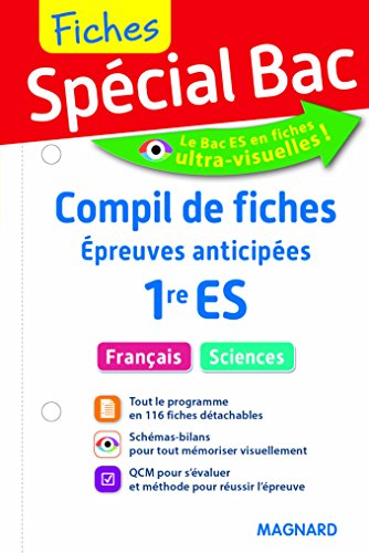 2017 Special Bac Compil de Fiches Épreuves Anticipees 1e Es