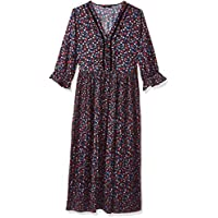 اونلي فستان قصة واسعة للنساء ، مقاس 36 EU ، متعدد الالوان