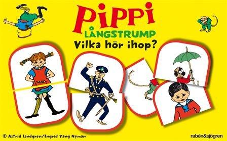 Pippi Långstrump - Vilka hör ihop? por Astrid Lindgren
