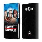 Head Case Designs Offizielle WWE Braun, Brock & Kane 2018 Royal Rumble Brieftasche Handyhülle aus Leder für Samsung Galaxy J5 (2016)