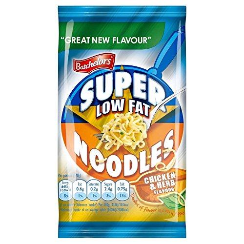 Batchelors Super Noodles Chicken & Herb Low Fat (85g) - Pack of 6