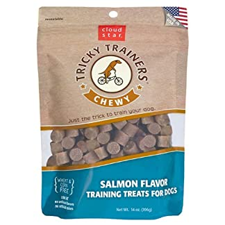Cloud Star Chewy Tricky Trainers, Salmon Flavor, 14-Ounce Pouch 11