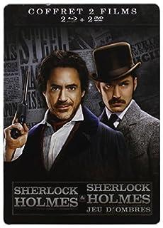 Sherlock Holmes + Sherlock Holmes 2 : Jeu d'ombres [Pack Collector boîtier SteelBook] (B007GE87C6) | Amazon price tracker / tracking, Amazon price history charts, Amazon price watches, Amazon price drop alerts