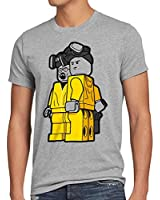 style3 Brick Bad T-Shirt Homme white meth walter crystal breaking tv serie