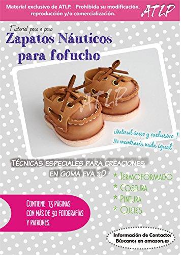 ZAPATITOS DE GOMA EVA NÁUTICOS para FOFUCHAS