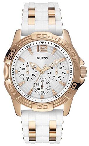 Guess Women's Quartz Watch W0615L1 with Rubber Strap