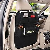 #5: Benjoy Black Car Organizer Storage Bag Back Seat Box Organizer Holder Cover Backseat Pockets Books Phone Auto Stowing Tidying Accessories For Maruti Suzuki SX4
