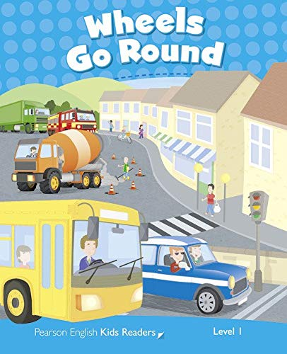 Penguin Kids 1 Wheels Go Round Reader CLIL (Pearson English Kids Readers) - 9781408288221