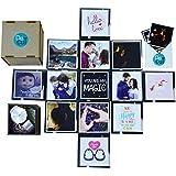 DecuT Lovin Box Handmade Gift Box/Explosion Box For Love/Love Gift For Girls/Love Gift For Girlfriend/Love Explosion Box
