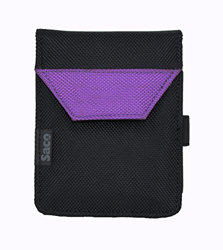 Saco Plug and play External Hard Disk Pouch Cover Bag for Sony HD-B1 1TB External Slim Hard Disk -Purple  available at amazon for Rs.180