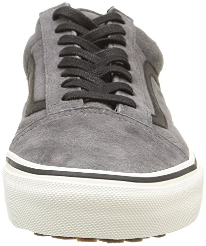 Vans U Old Skool Mte, Baskets Basses Mixte Adulte Gris (Pewter/Wool)