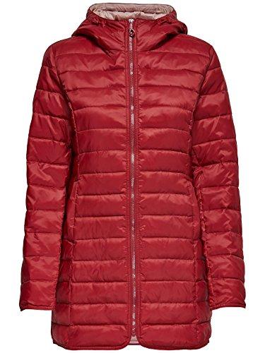 ONLY Damen-Mantel Tahoe Coat Übergangsjacke Freizeitmantel, Farbe:Grau, Größe:XS - 4