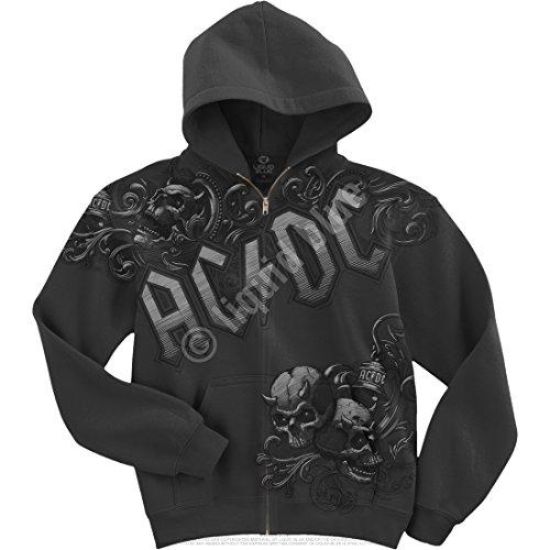 AC/DC NIGHT PROWLER ZIP HOOD (Star Sweatshirt Zip-hood)