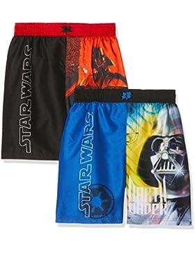 FABTASTICS Star Wars, Bañador para Niños (Pack de 2)