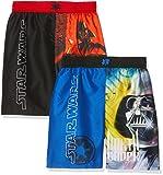 FABTASTICS Star Wars, Bañador para Niños (Pack de 2), Multicolor (Multi 001), 10 Años/140 cm (Pack de 2)