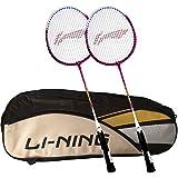 [Sponsored]Li-Ning ABDK122 Smash XP 708 Combo (Li-Ning ABDK122 Badminton Kitbag + Li-Ning 708 Badminton Racquet, Set Of 2) - Black Bag