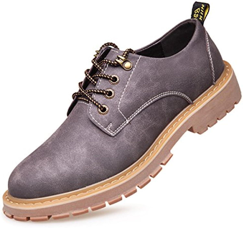LYZGF Männer Jugend Geschäfts Freizeit Mode große Größen Spitze Leder Schuhe  Billig und erschwinglich Im Verkauf