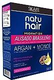 Natuhair Kit de lissage brésilien avec argan et monoï