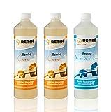 Pflege-Set für versiegeltes Parkett: Care Parkettpflege 2 Liter + Neutralreiniger 1 Liter