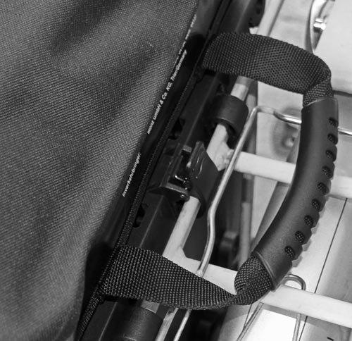 Red Loon Pro Packtasche Fahrradtasche Gepäckträgertasche LKW-Plane wasserdicht Weiß